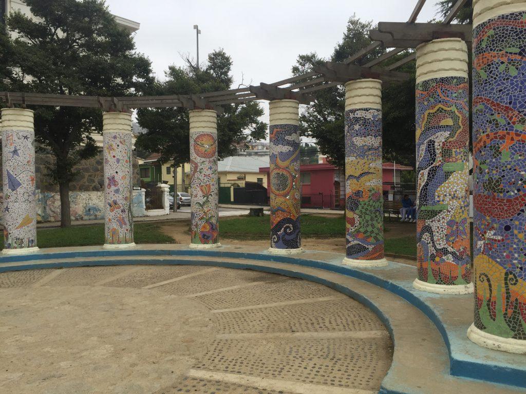 mosaik i Valparaiso