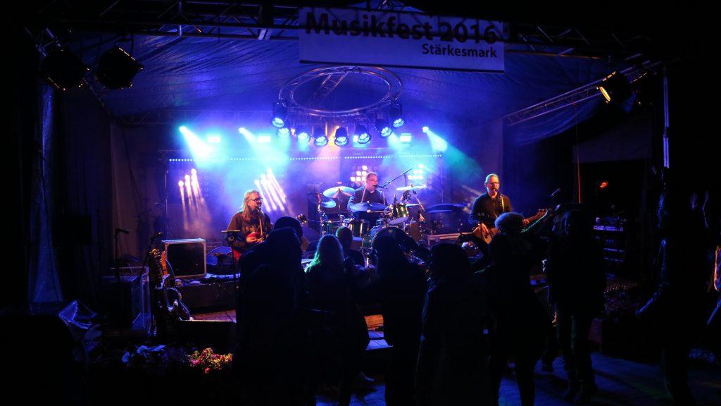 Musikfest i Stärkesmark