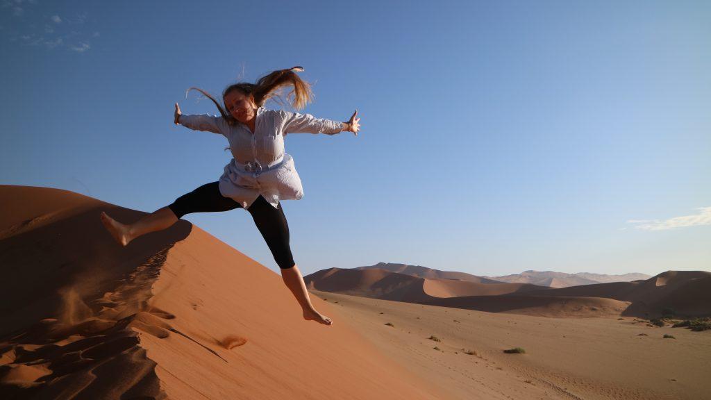 hopp i sanddyn