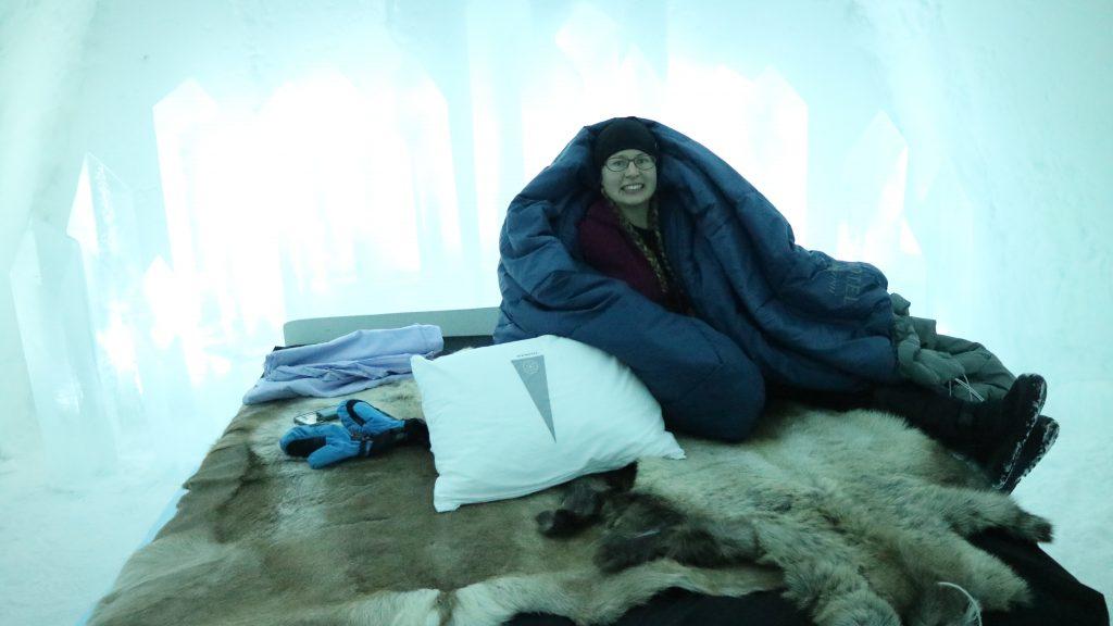 Sova på ishotell