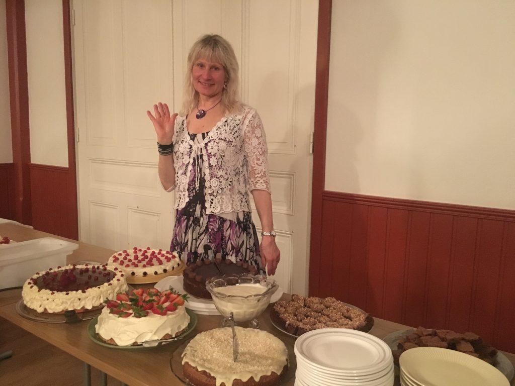 Min mor Tina och tårtorna!