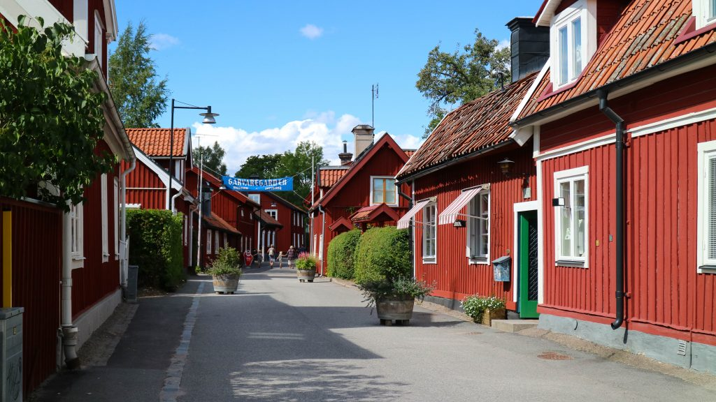 svenska sommarstäder bilsemester dagsutflykter trosa