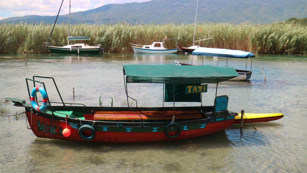 båttur i ohrid