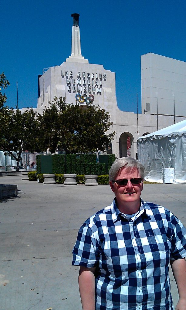 olympiska arenan i los Angeles