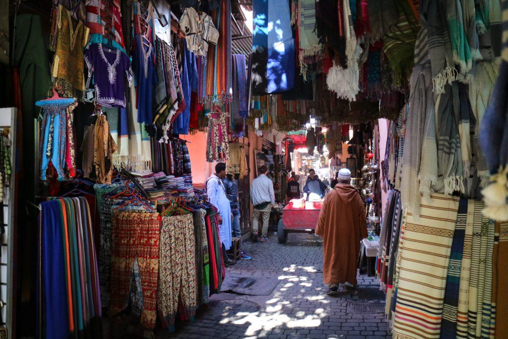 Souk i marrakech