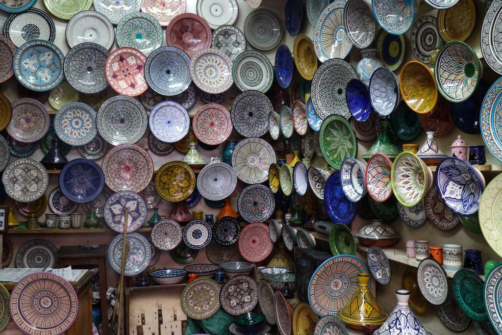 shoppa i marrakech
