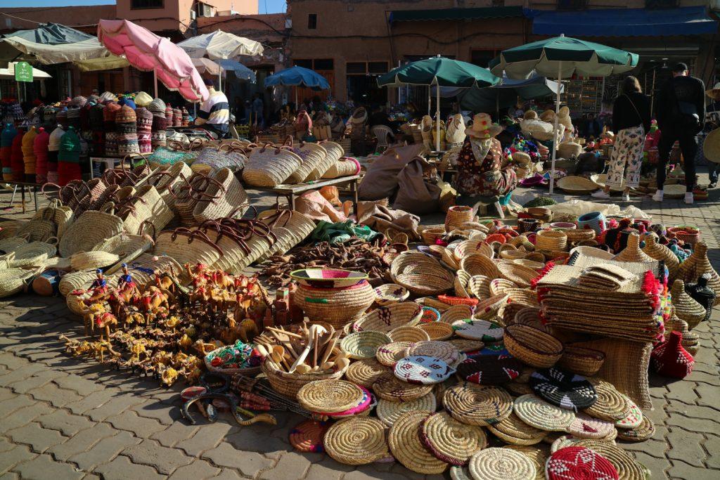 intryck av marrakech