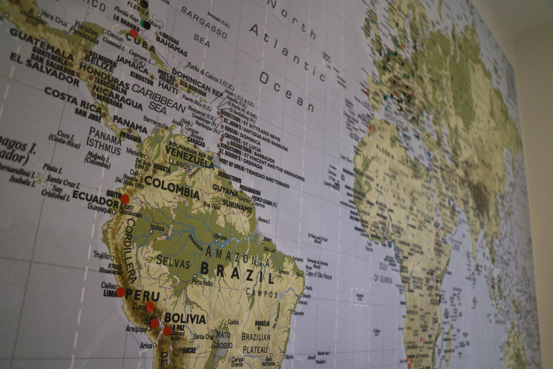 Karta Afrikas Ostkust.Inreda Med Resor Inspireras Av Varlden Och Ta Med Den In I Hemmet