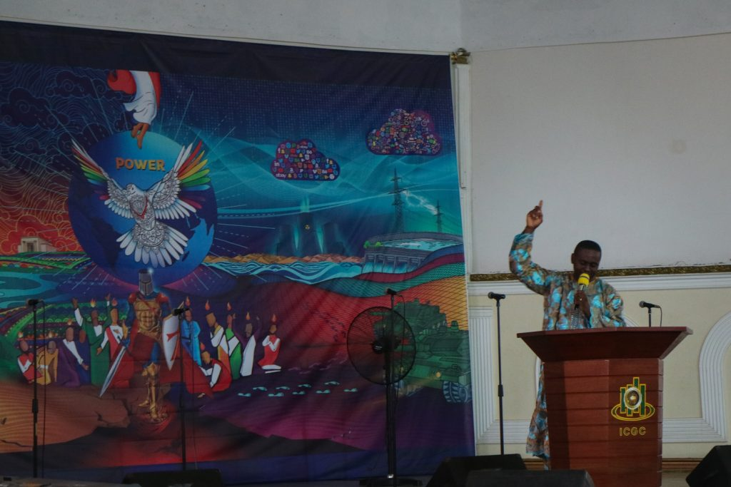 Gudstjänst i Ghana