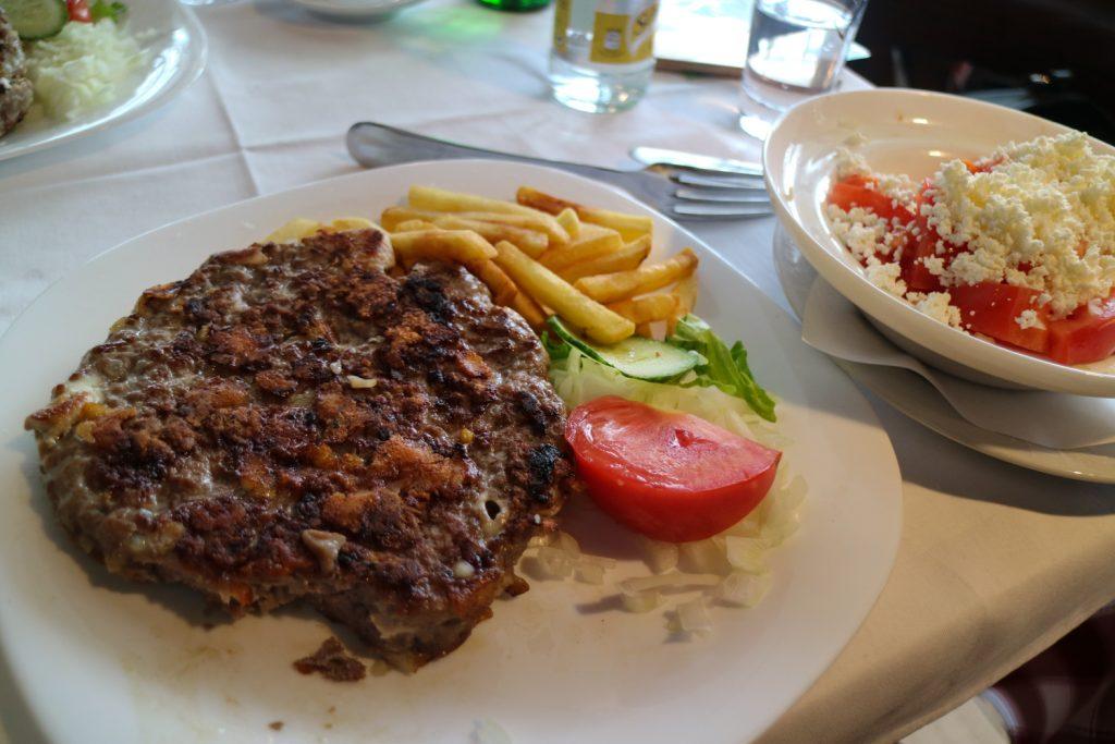 Äta i Belgrad restaurang