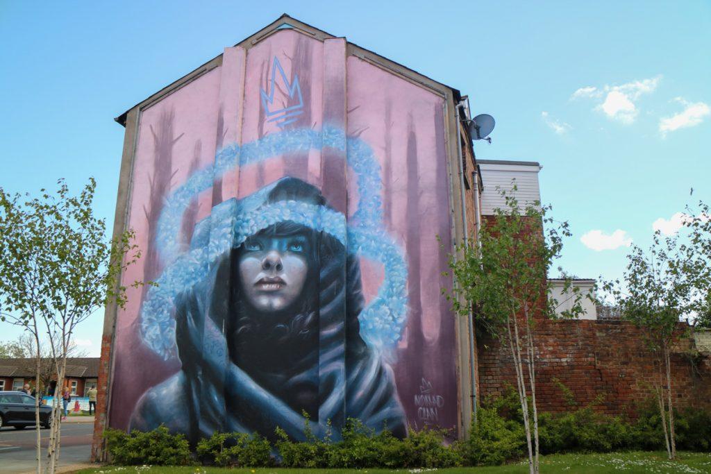 Muralmålning på Nordirland