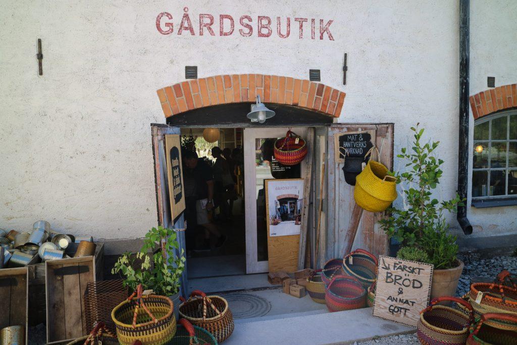 Gårdsbutiker på Gotland