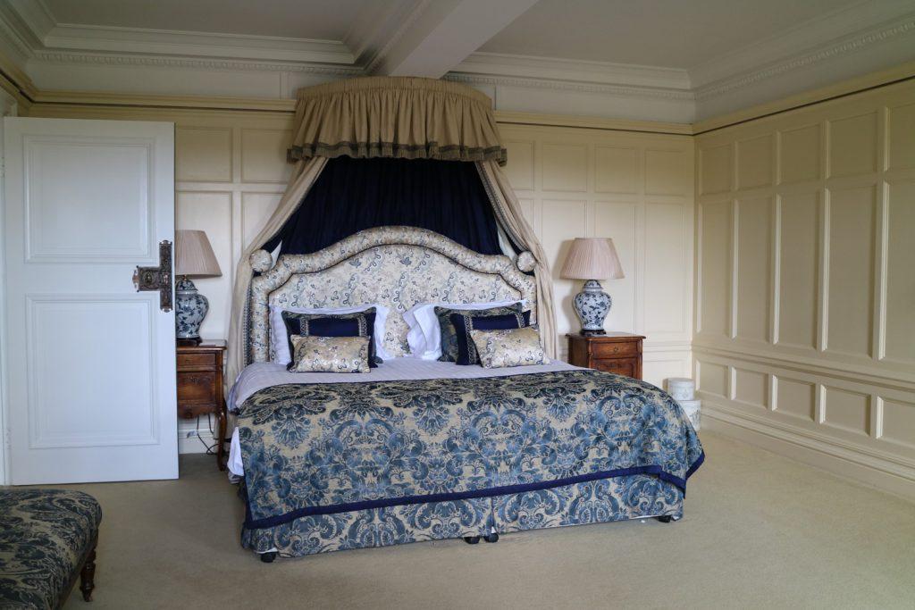 Sova på Herrgård i Skottland
