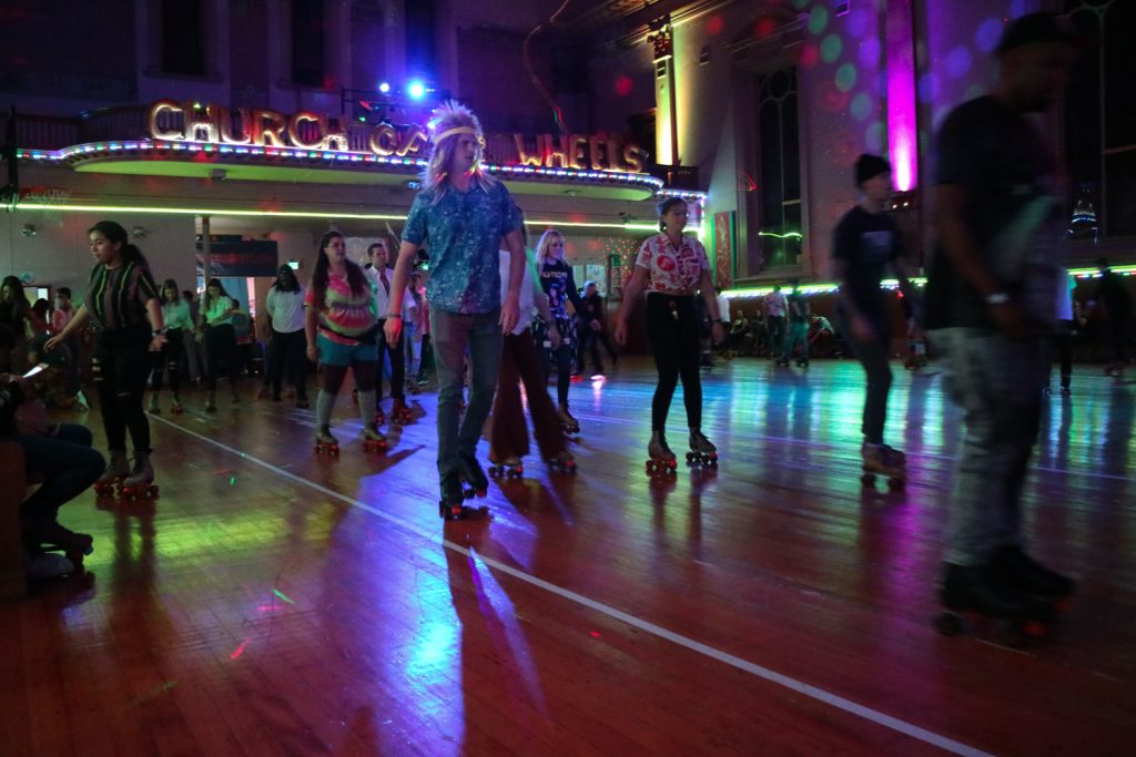 roller skate disco