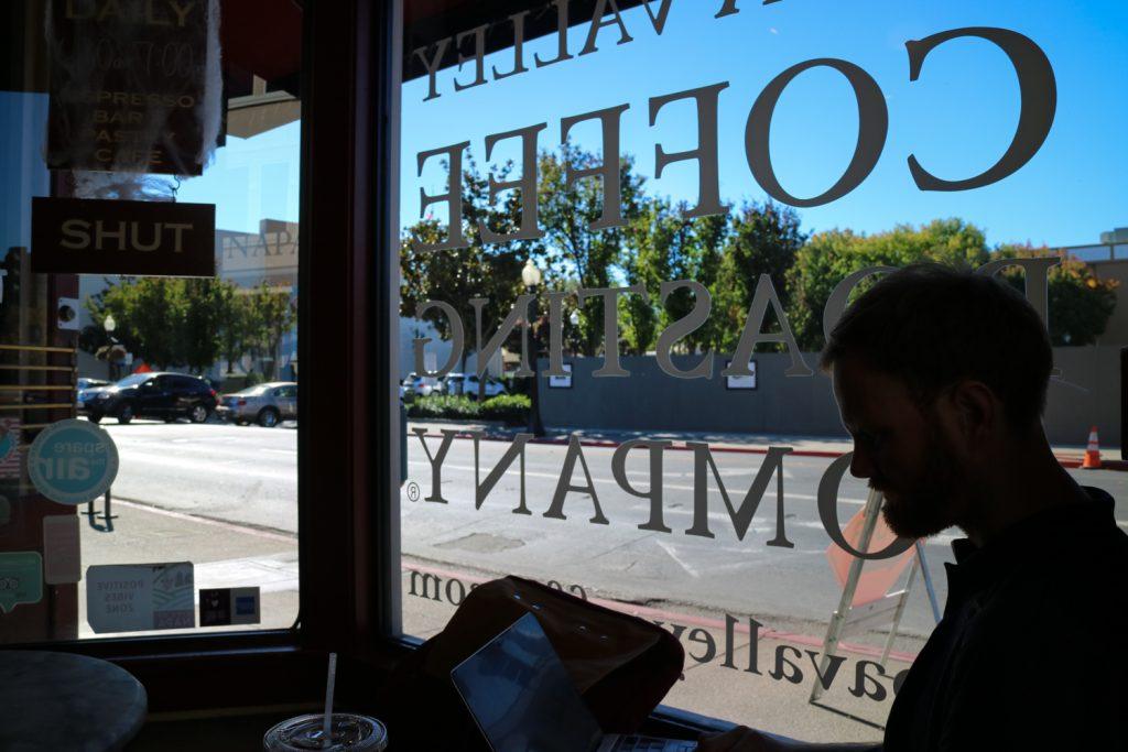 Vindistrikt och vandringar utanför San Francisco