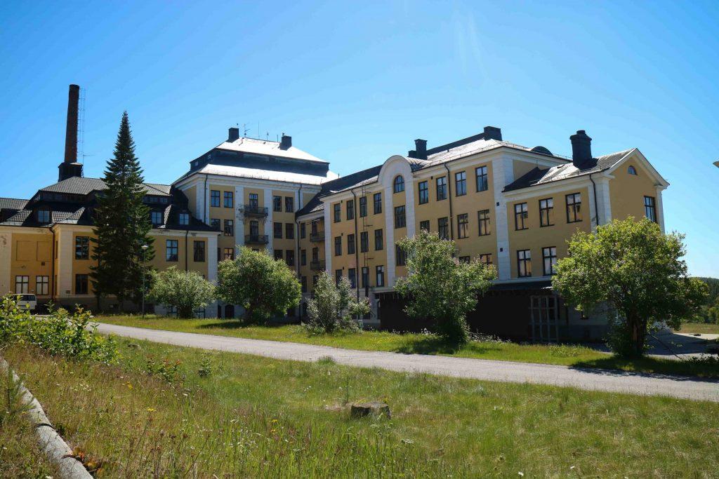 Hällnäs Sanatorium bil genom Västerbotten