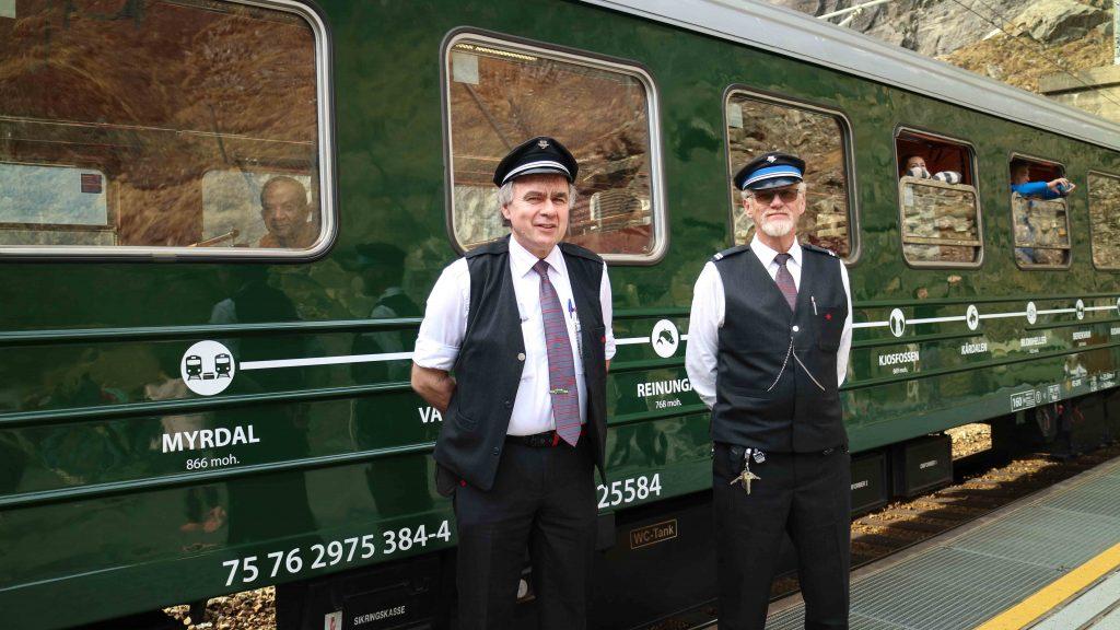 åka tåg norge