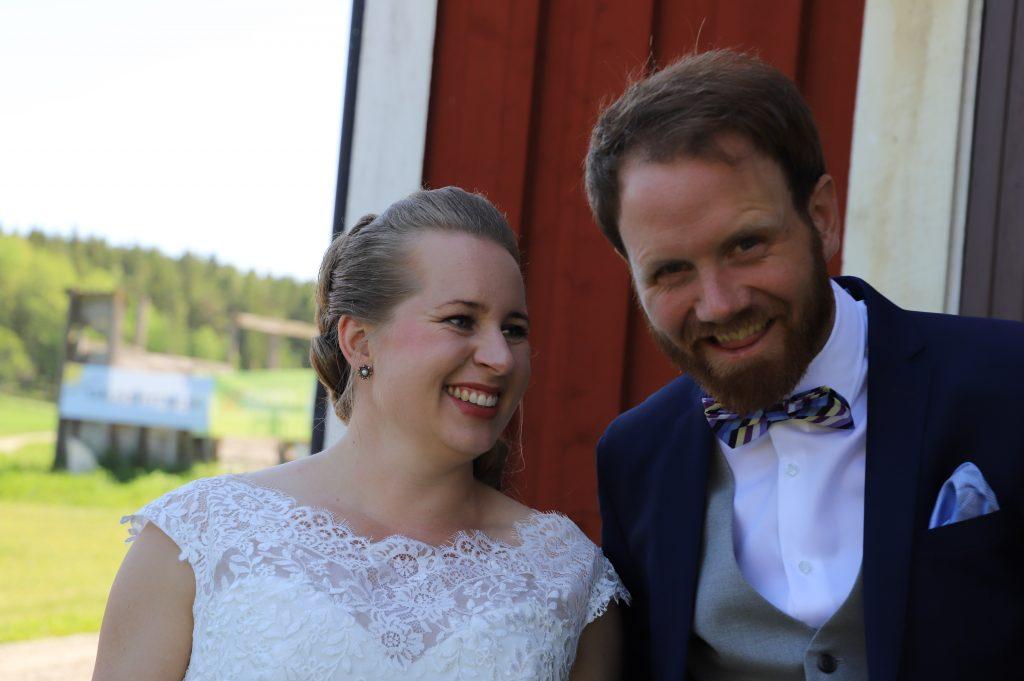 Bröllop tacksam corona