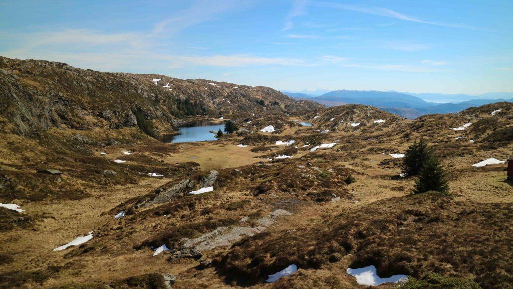 vandra på ulriken i Bergen