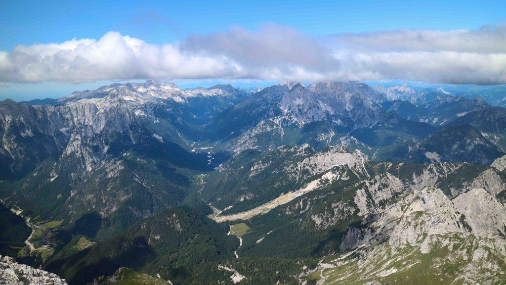 Vandra i Slovenien Mangart