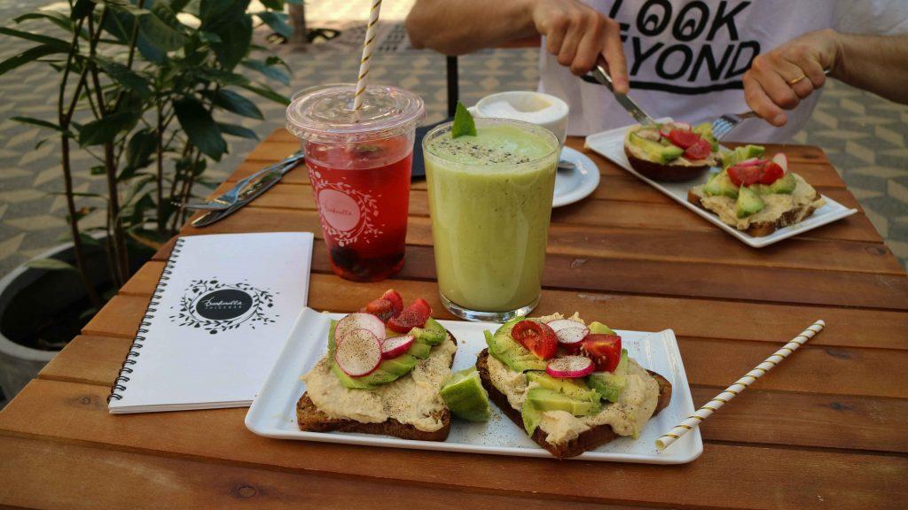Äta i Ljubljana tips restaurang