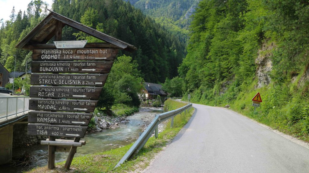 Panoramavägen i Slovenien vackraste väg