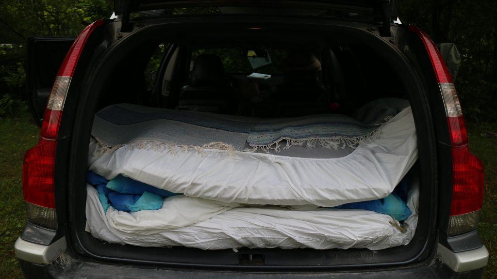 bilsemester Europa sova i bilen