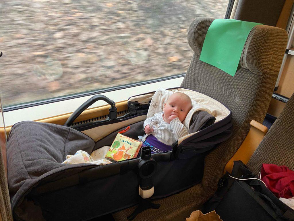 Resa med spädbarn