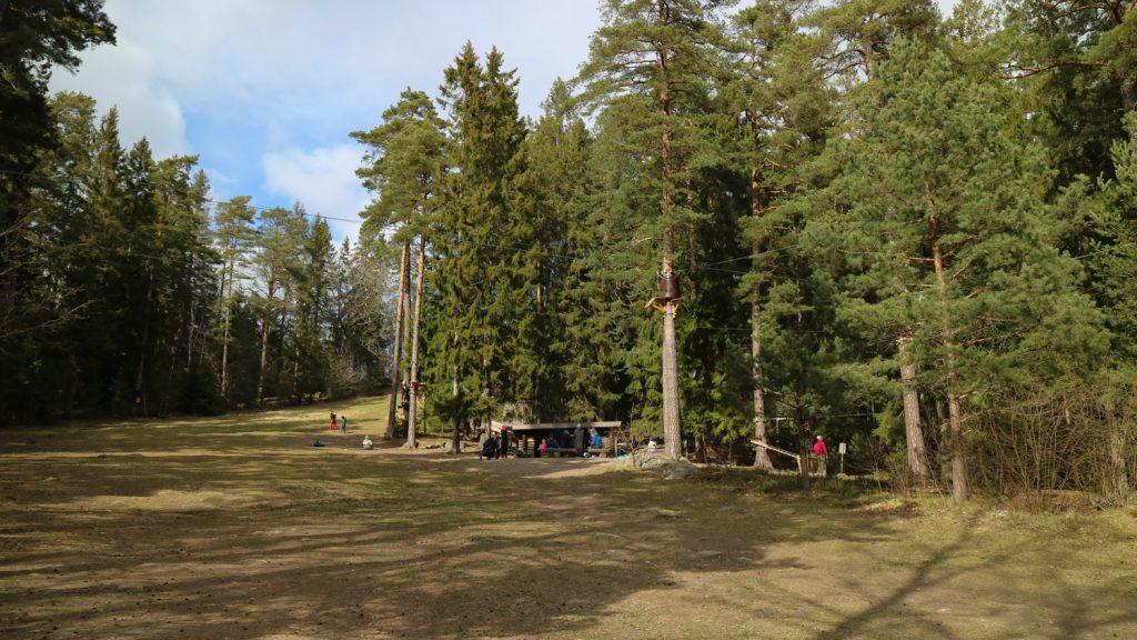 Lida Friluftsgård, friluftsområde Stockholm