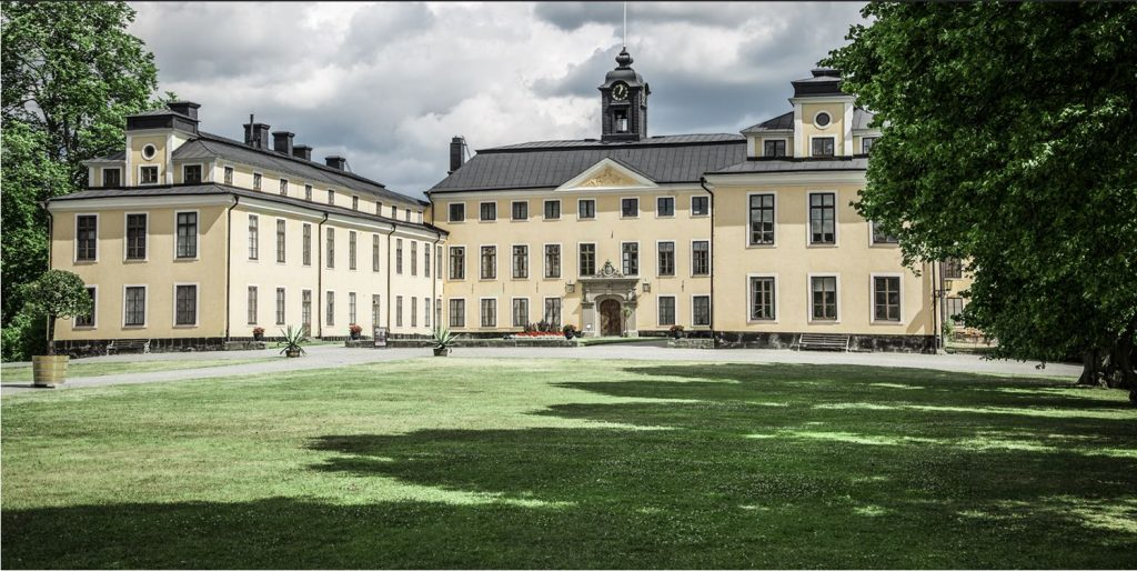 Ulriksdal trädgårdscafé i Stockholm