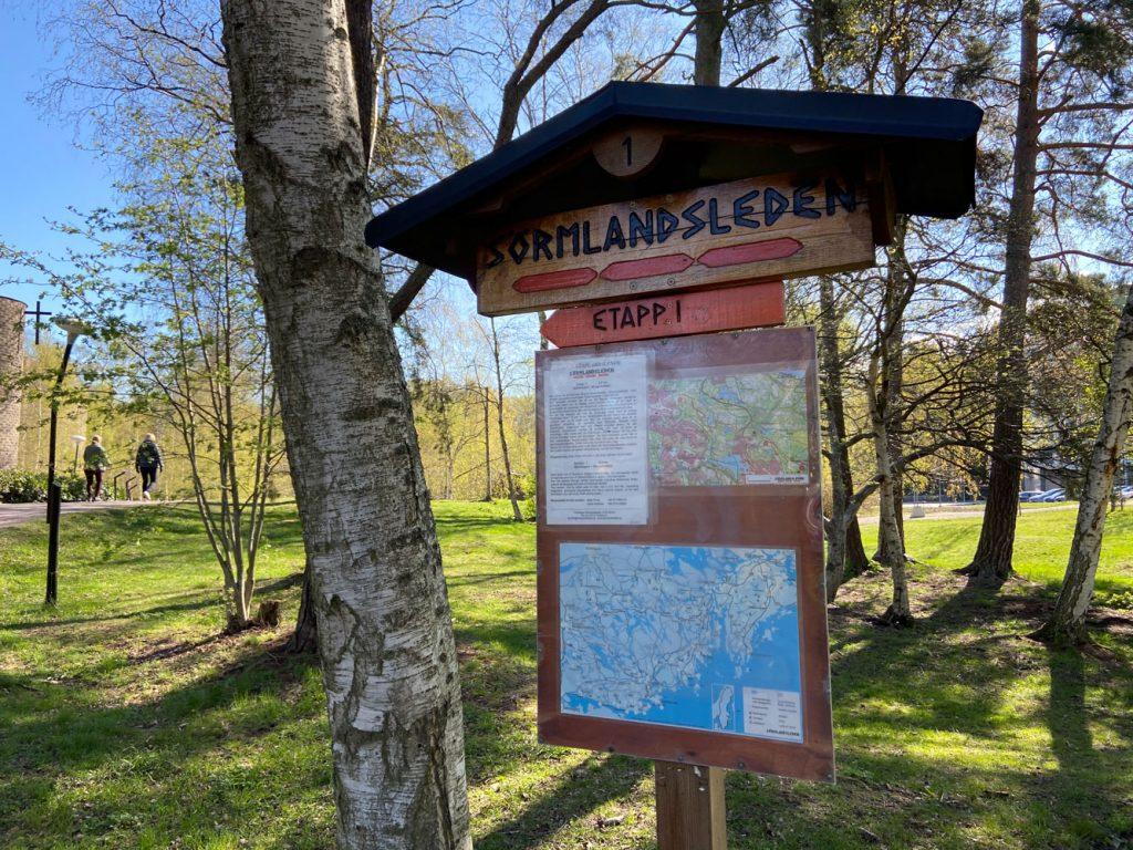Vandra sörmlandsleden etapp 1 Stockholm