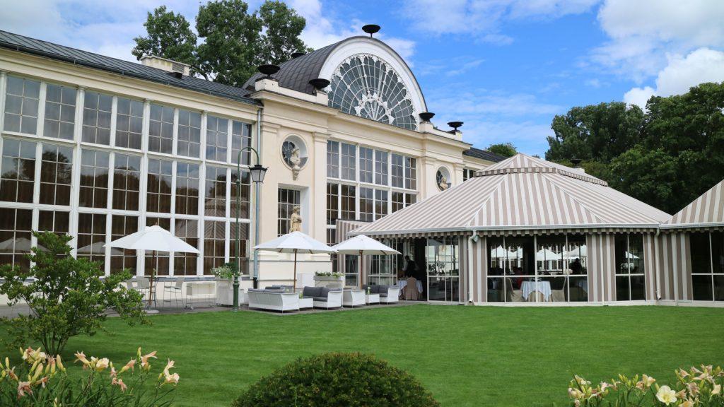 Restaurang Belvedere i Warszawa