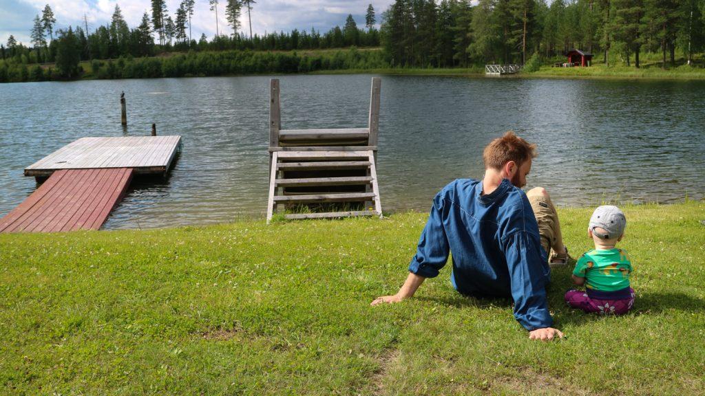 Sommar i Västerbotten, Tvärålund