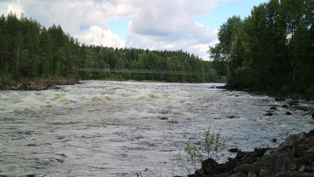 Sommar i Västerbotten, Vindelälven