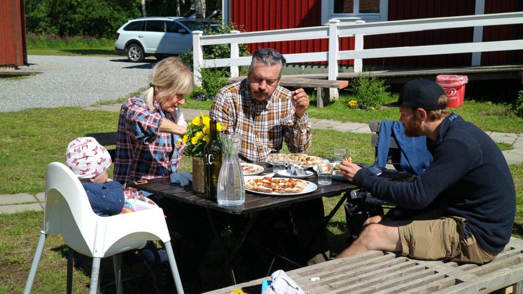 Sommar i Västerbotten, Tavelsjö