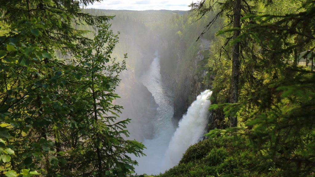Vattenfall i Jämtland Hällingsåfallet