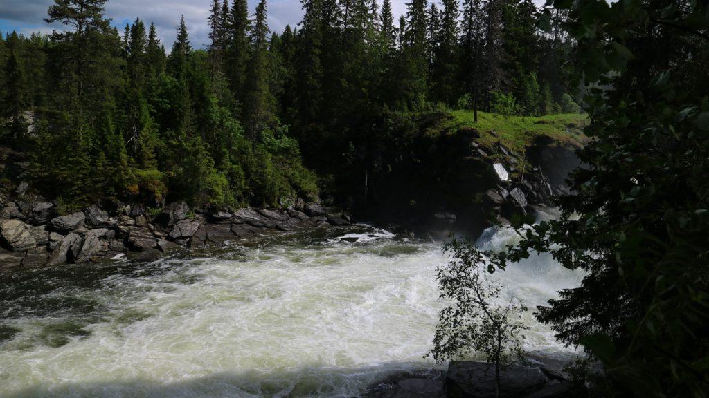 Vattenfall i Jämtland Ristafallet