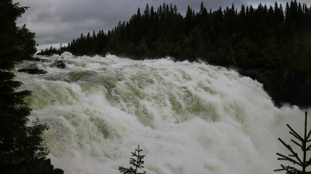 Vattenfall i Jämtland Tännforsen