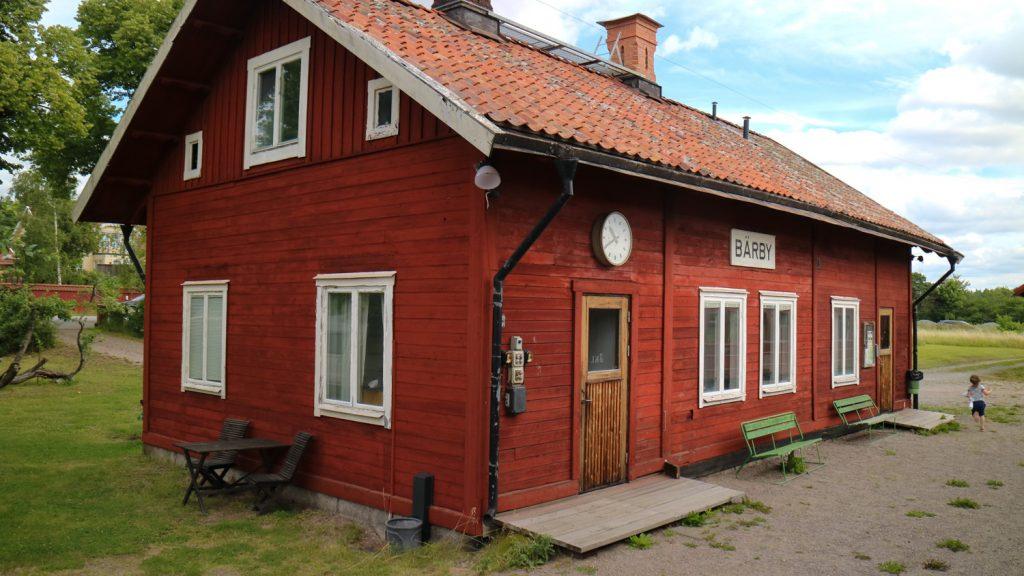 Museijärnvägen Lennakatten i Uppsala
