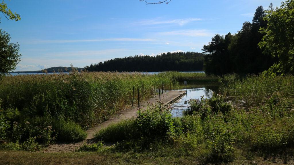 Härjarö bada Enköping Uppsala