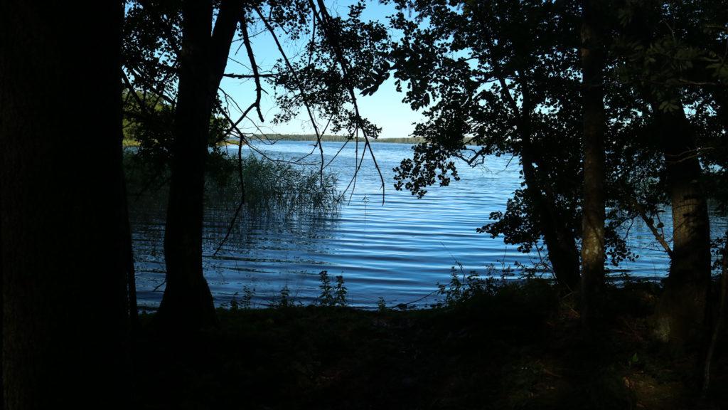 Härjarö naturreservat vandra Enköping