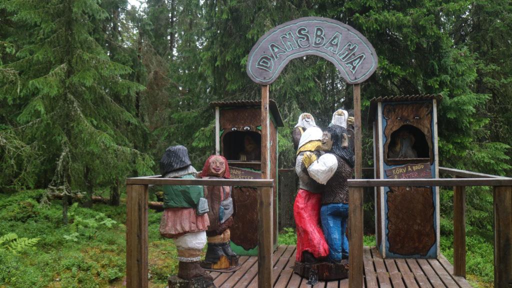 Trollskogen i Hundfjället, Sälen
