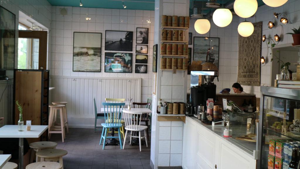 Café i Solna fika