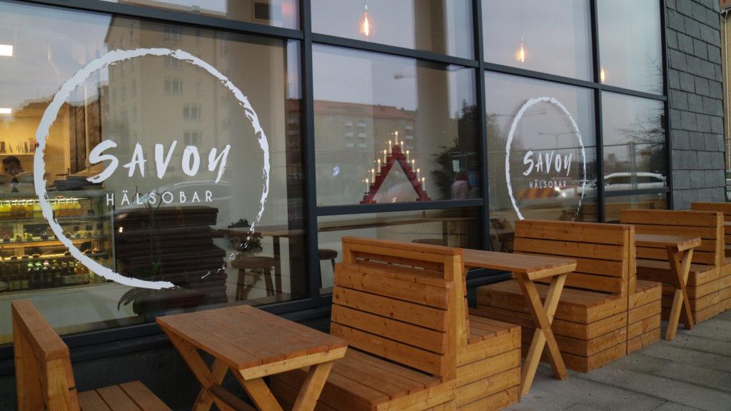 Café i Solna fika savoy hälsobar
