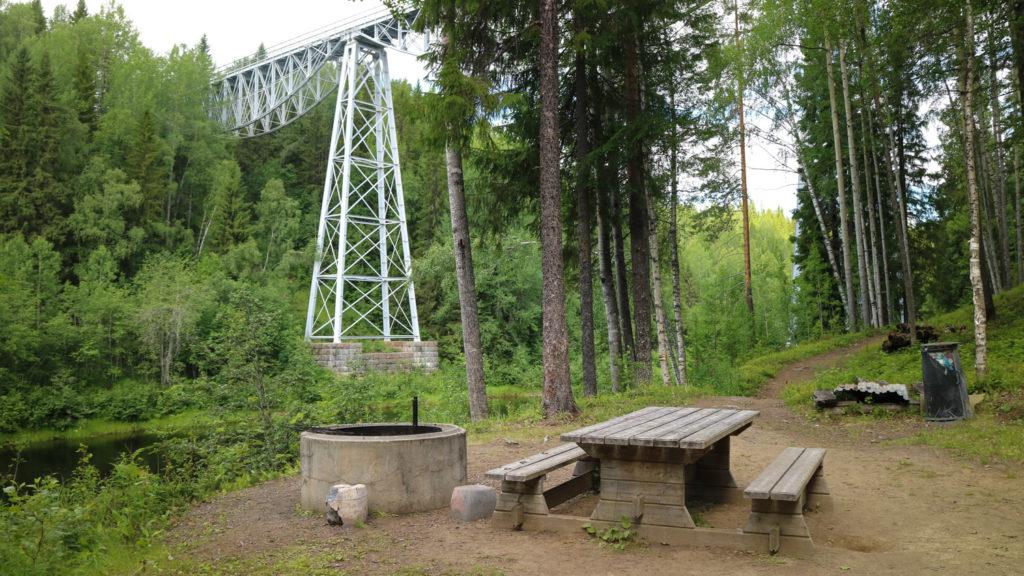 Tallbergsbroarna utflykt Konstvägen i Västerbotten