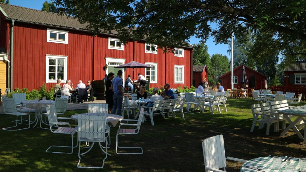 bilsemester i Västerbotten brännlands wärdshus