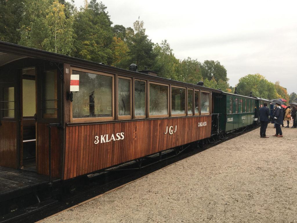 Mariefred järnväg bilsemester
