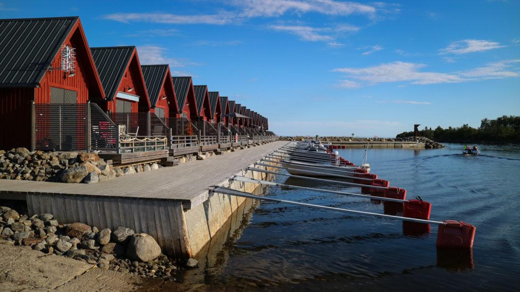 Hamnen i Täfteå, Rovögern