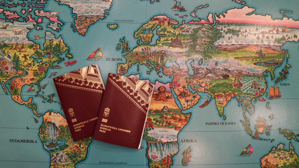 Göra pass till barn